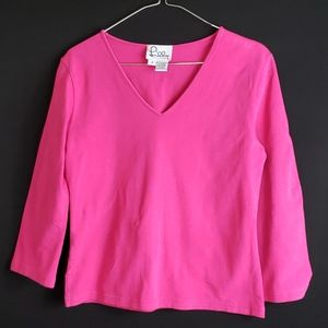 Lilly Pulitzer | Fuscia Pink | Size S | Top